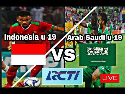 LIVE INDONESIA U 19 VS ARAB SAUDI U 19. LIVE RCTI
