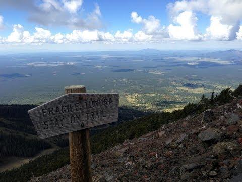 Summit to Humphreys Peak - Tallest Peak in Arizona on a CLEAR day!