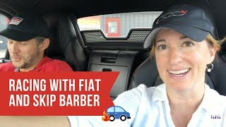 On the Track with Fiat Abarth and Skip Barber Racing