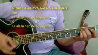 Gitar Dersi - Kanatlarım Var Ruhumda (Nil Karaibrahimgil) Video