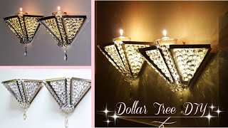 DIY Dollar Tree Wall Light | D…