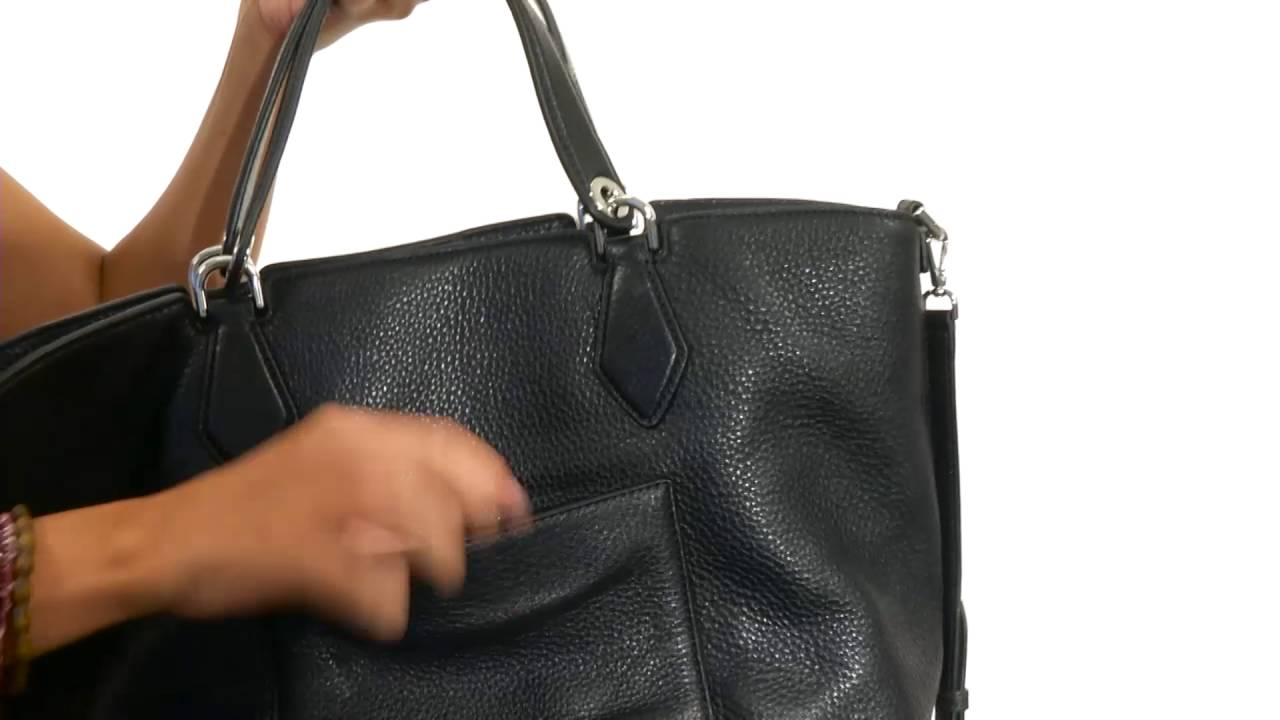 6376971c5b1c MICHAEL Michael Kors Anabelle Large Grab Bag SKU 8752535 - YouTube