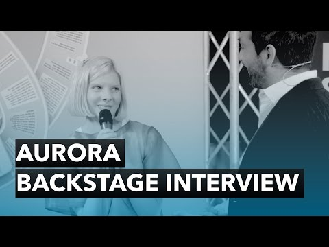 AURORA - Backstage Interview - The 2015 Nobel Peace Prize Concert