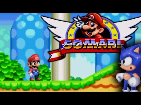 SOMARI - PLAYING AS SUPER MARIO IN AN AMAZING SONIC THE HEDGEHOG ROM