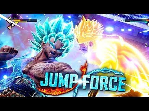 GOKU VS NARUTO - CHI VINCERA' ?   JUMP FORCE ITA