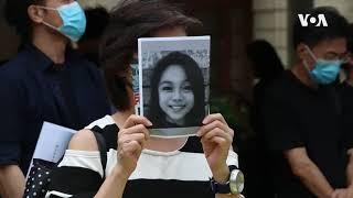 香港多地快闪集会 要求调查15岁少女抗争者死因