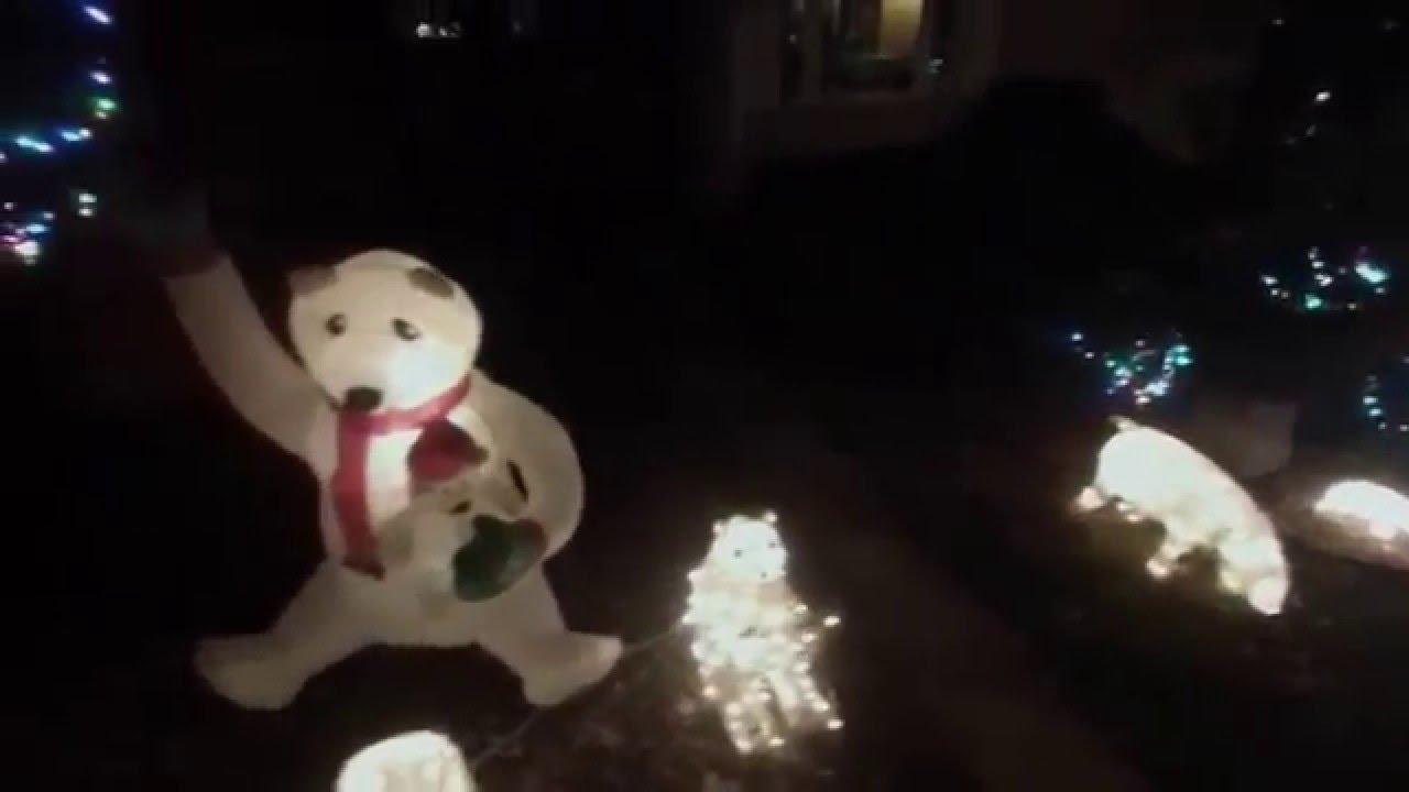 polar bears christmas decorations 2015