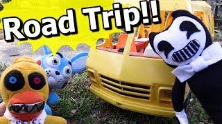 fnaf plush episode 121 road trip disaster