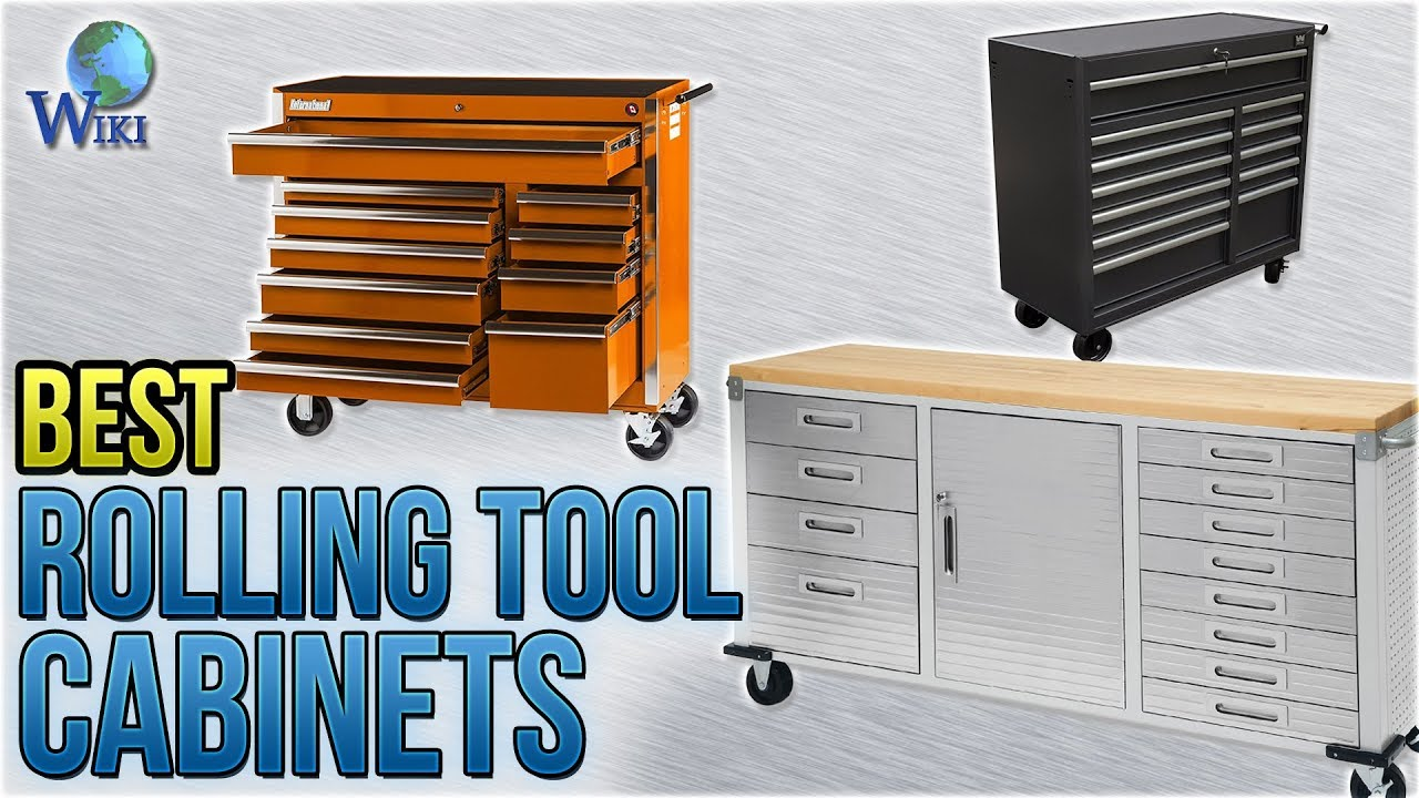 10 Best Rolling Tool Cabinets 2018