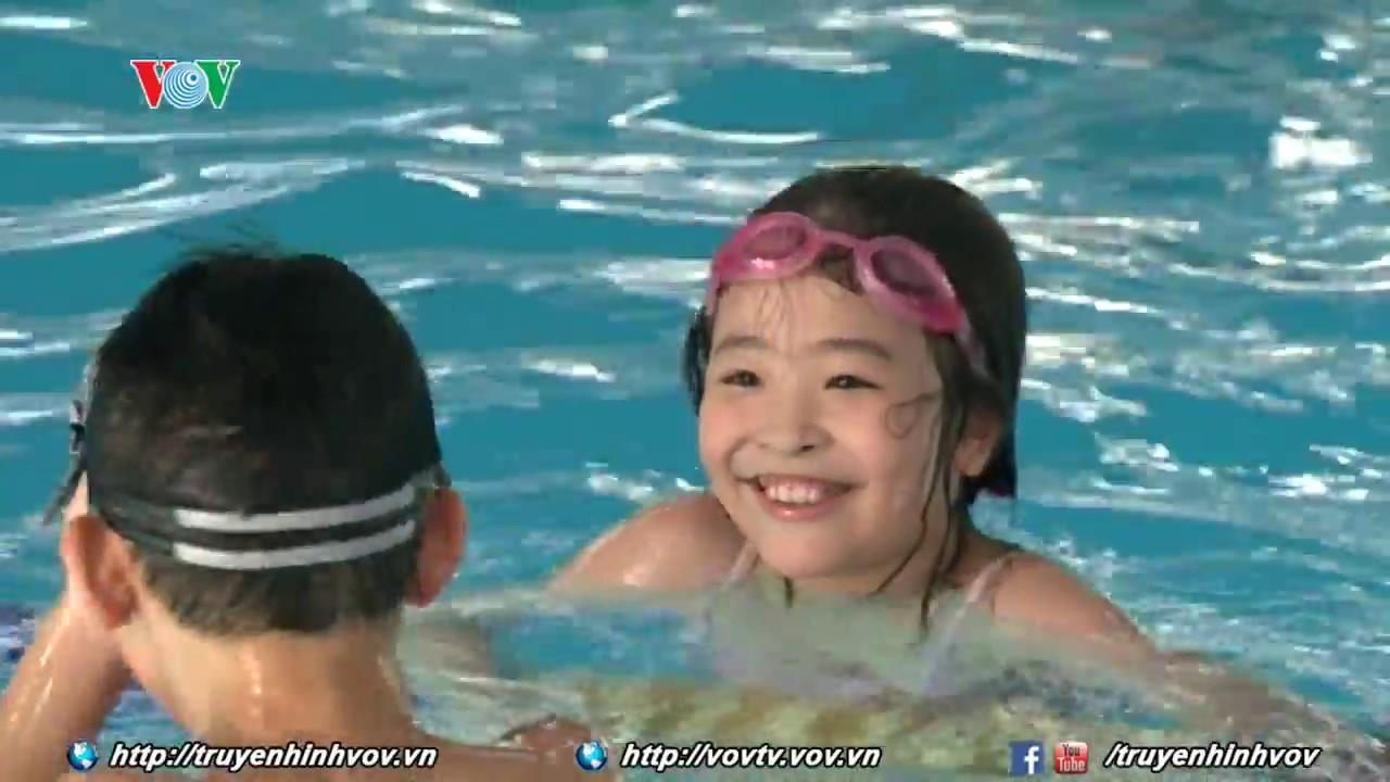 Bể bơi Olympia – Số 3, Tăng Bạt Hổ, Hà Nội | VOVTV