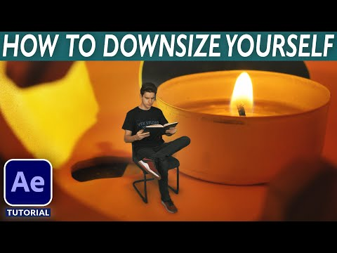 HOW TO SHRINK YOURSELF (DOWNSIZING) - After Effects VFX Tutorial