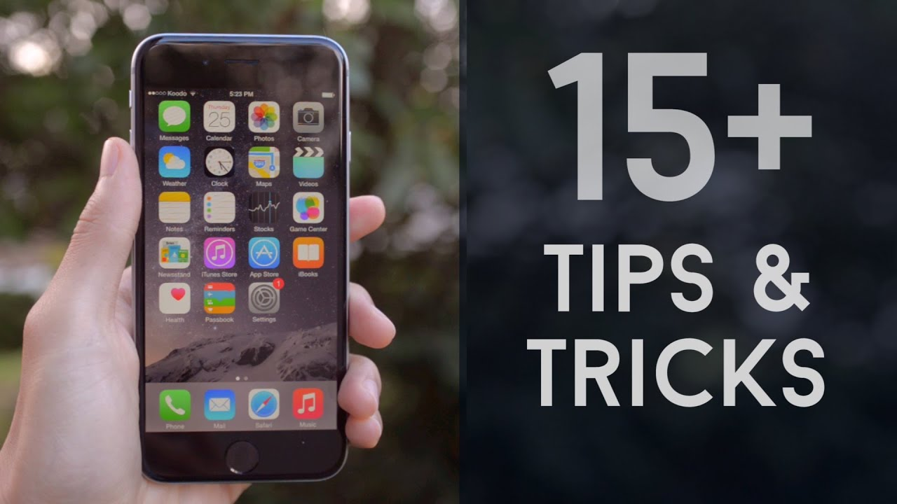 iphone 6 tips 15 tips and tricks iphone 6 and ios 8 11432