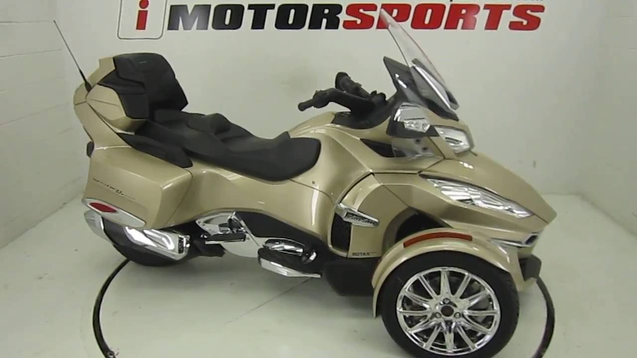 2017 Can Am Spyder Rt Limited 6 Sd Semi Automatic Imotorsports A2504