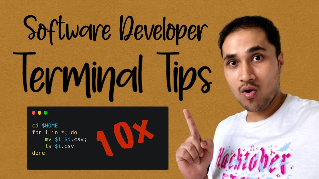 How I Use Terminal as a 10x Software Developer? Productivity Boost Hacks ✅