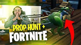 PROP HUNT IN FORTNITE IS INSANE! MY FIRST TIME EVER PLAYING! (Fortnite: Battle Royale)
