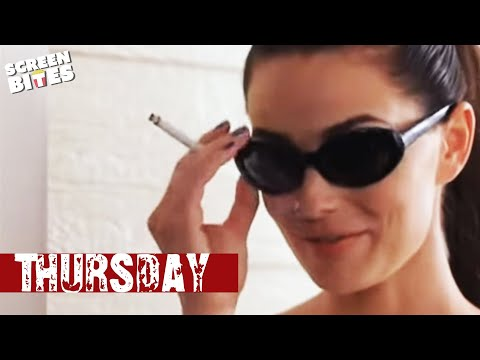 Thursday: Casey (Thomas Jane) meets Dallas (Paulina Porizkova)