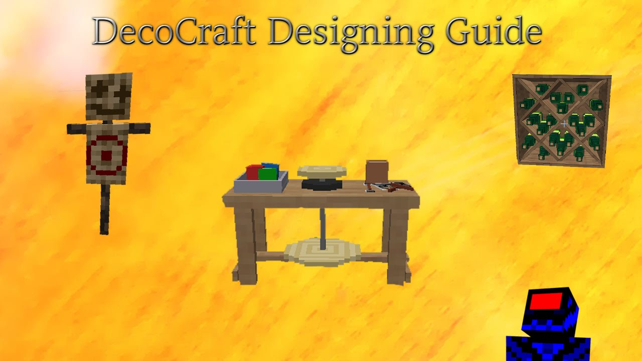 Decocraft Designing Guide Youtube