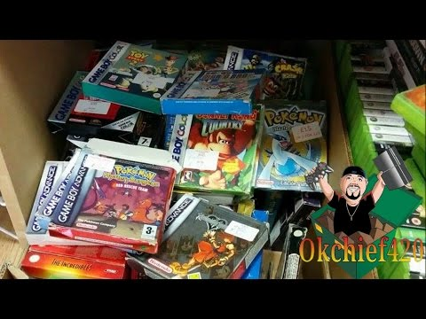 Okchief420 Video Game Hunting EP. 201 International Game Huntin