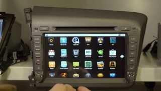 Штатные головные устройства для Honda Civic 2012(Штатная магнитола Honda подарит водителю массу возможностей: от любимой музыки до выхода в Интернет и проклад..., 2013-07-01T23:43:04.000Z)