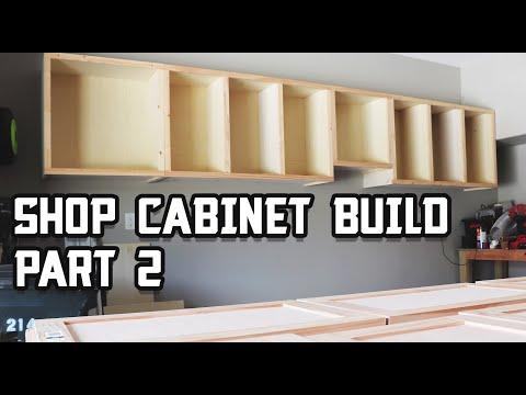 Custom Shop Cabinet Build - Part 2!