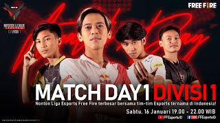 [2021] Free Fire Master League Season III Divisi 1 - Match Day 1