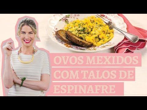 Ovo mexido com talos de espinafre | Receita Panelinha | Com Rita Lobo