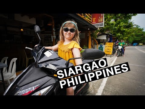 Family Travel exploring Siargao Philippines