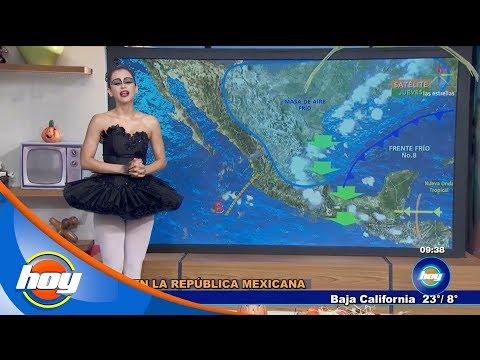 Pronóstico del clima de Halloween ? | Aclimátate con Yanet García | Hoy