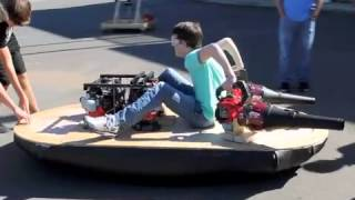 Lenoir City High School Senior Engineering Students Build Hovercraft