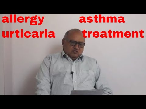 allergy  asthma urticaria treatment family doctor rajesh goyal