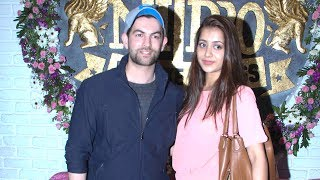 Neil Nitin Mukesh & His Wife's First Public Appearance TOGETHER