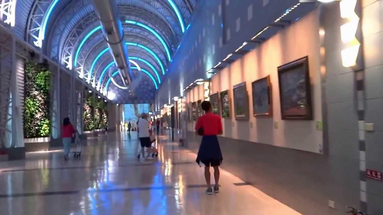 Kaohsiung Airport 高雄機場 - 出境查驗通關 day 1 - 5 ( Taiwan ) - YouTube