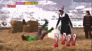Lee Jong Suk Defeated By Lady Jong Kook - RUNNING MAN EP 181