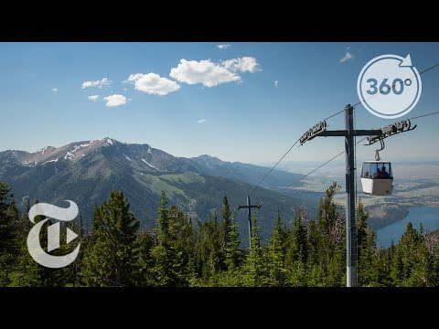 360 Travel Postcard: 8,150 Feet Above Oregon  | The Daily 360 | The New York Times