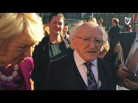VIDEO: President Higgins on being 'ganged up on' by other presidential candidates Mp3