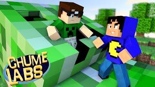 Minecraft: DENTRO DE UM CREEPER! (Chume Labs 2 #29)