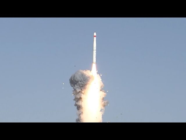 China's Long March-11 launches with four satellites
