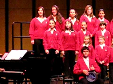 greek singing christmas recital 2007 3