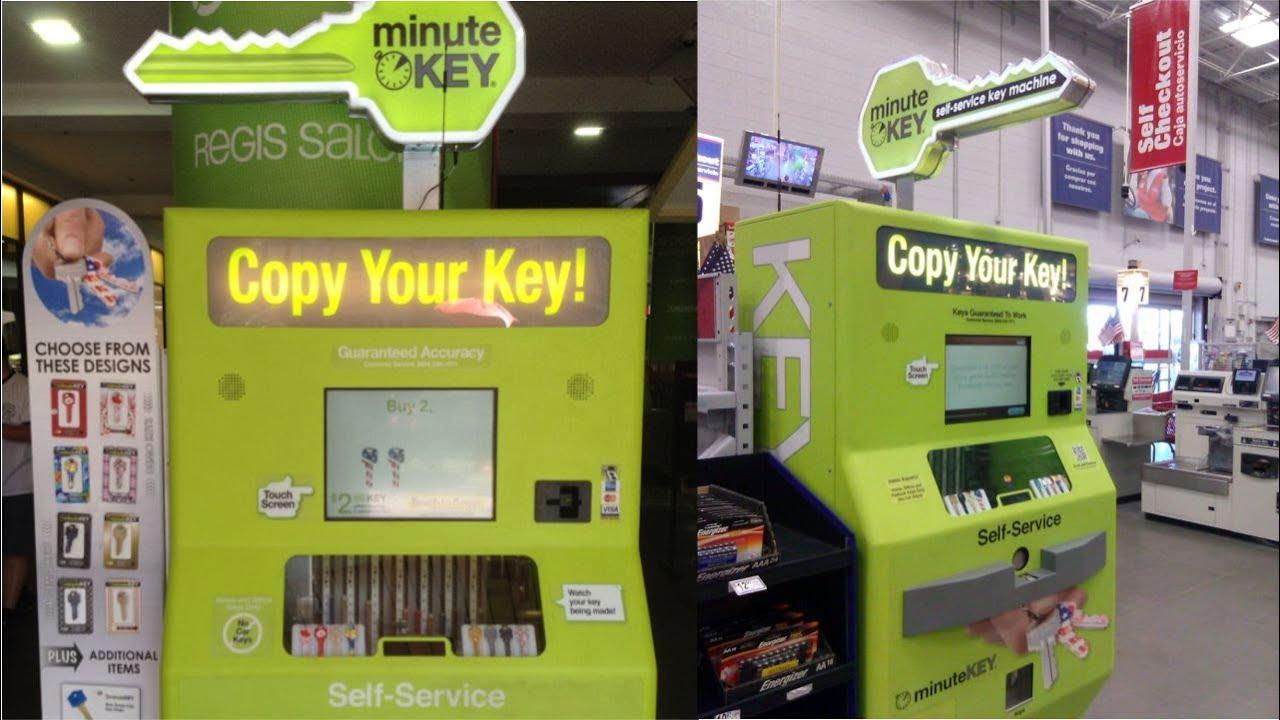 Cerrajero automatico - maquina duplicadora de llaves - YouTube