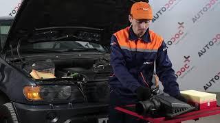 Как да сменим Въздушен филтър за двигател на BMW X5 E53 [Инструкция]