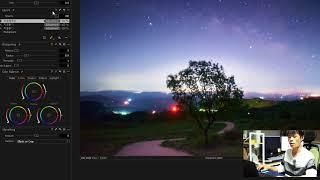 캡쳐원프로 은하수(별)사진 보정 (Captureonepro Milkyway)