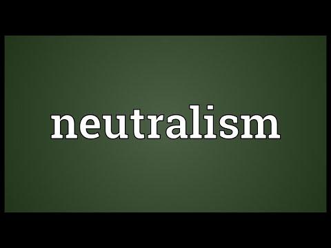 Header of neutralism