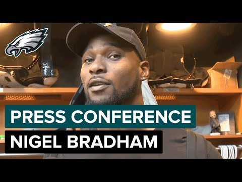 Nigel Bradham on Philly's First Super Bowl Rings & Building a Legacy | Eagles Press Conference