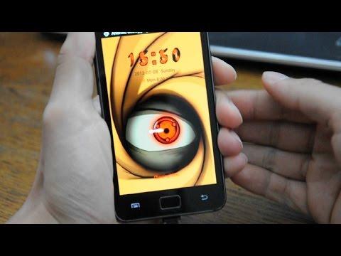 Sharingan Live Wallpaper y Lockscreen para android