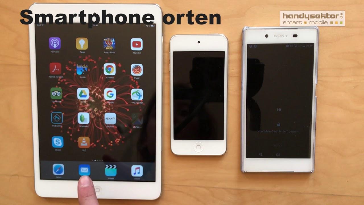Ortung für das iPhone aktivieren
