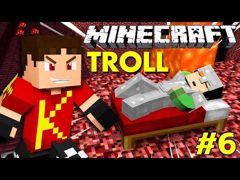 Minecraft Sinh Tồn #6 | TROLL VAMY DƯỚI ĐỊA NGỤC | KiA Phạm (w/ Vamy Trần)