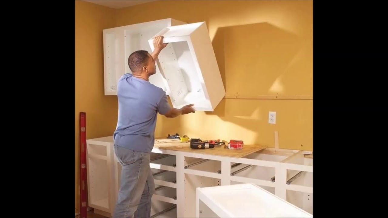 Best Kitchen Cabinet Installation & Cabinet Repair Services ...
