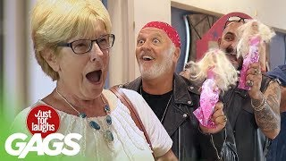 Bikers Buy Barbies Prank !