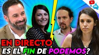 VOX ECHA A PABLO IGLESIAS DE LA POLÍTICA, IRENE MONTERO EN PROBLEMAS... DIRECTO DE LOS VIERNES Nº117