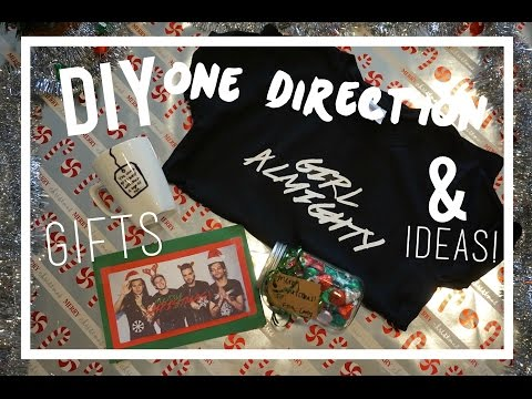 DIY One Direction Holiday Gifts & Ideas! Collab with TommFearn |MIDORIYUKIDAWN
